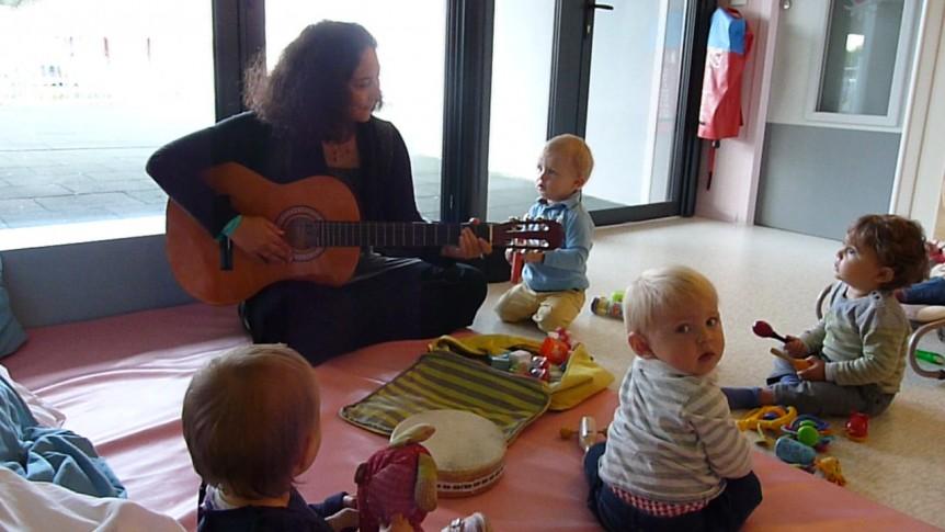 Atelier Musique : Aude et les Bébés