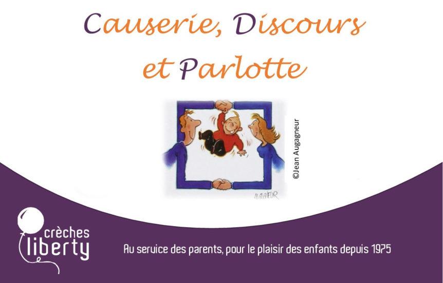 Causerie Discours et Parlotte